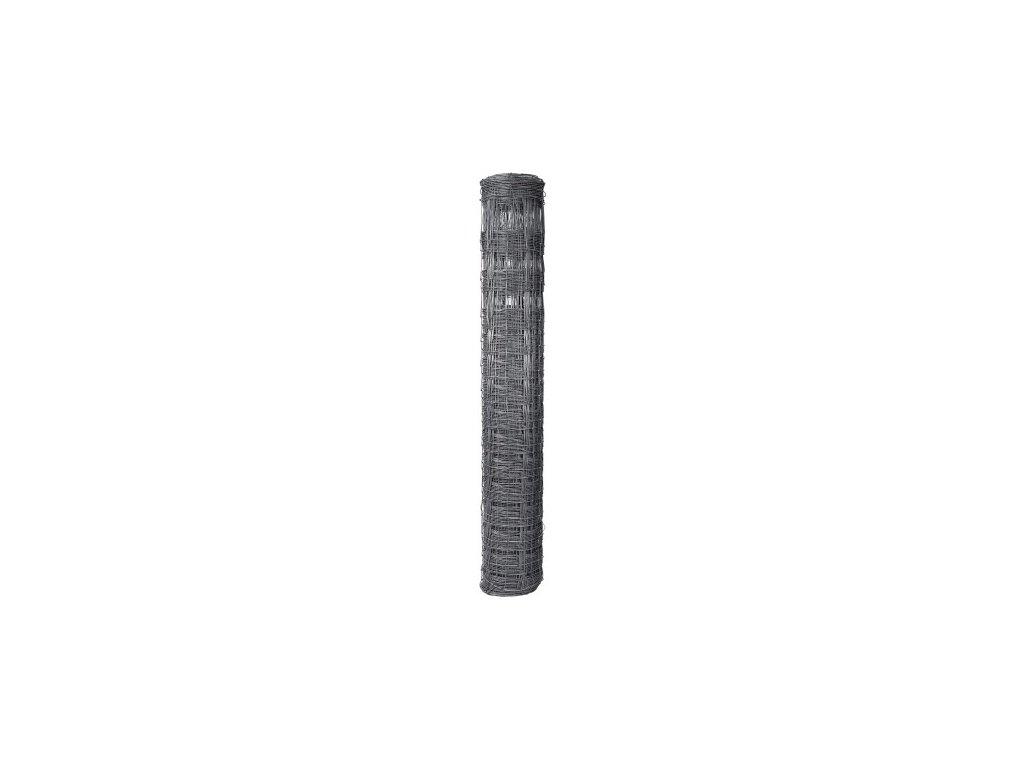 Pletivo pozinkované uzlové STANDARD v. 1,6 m vodorovné drôty 19 ks (bal 50 m)