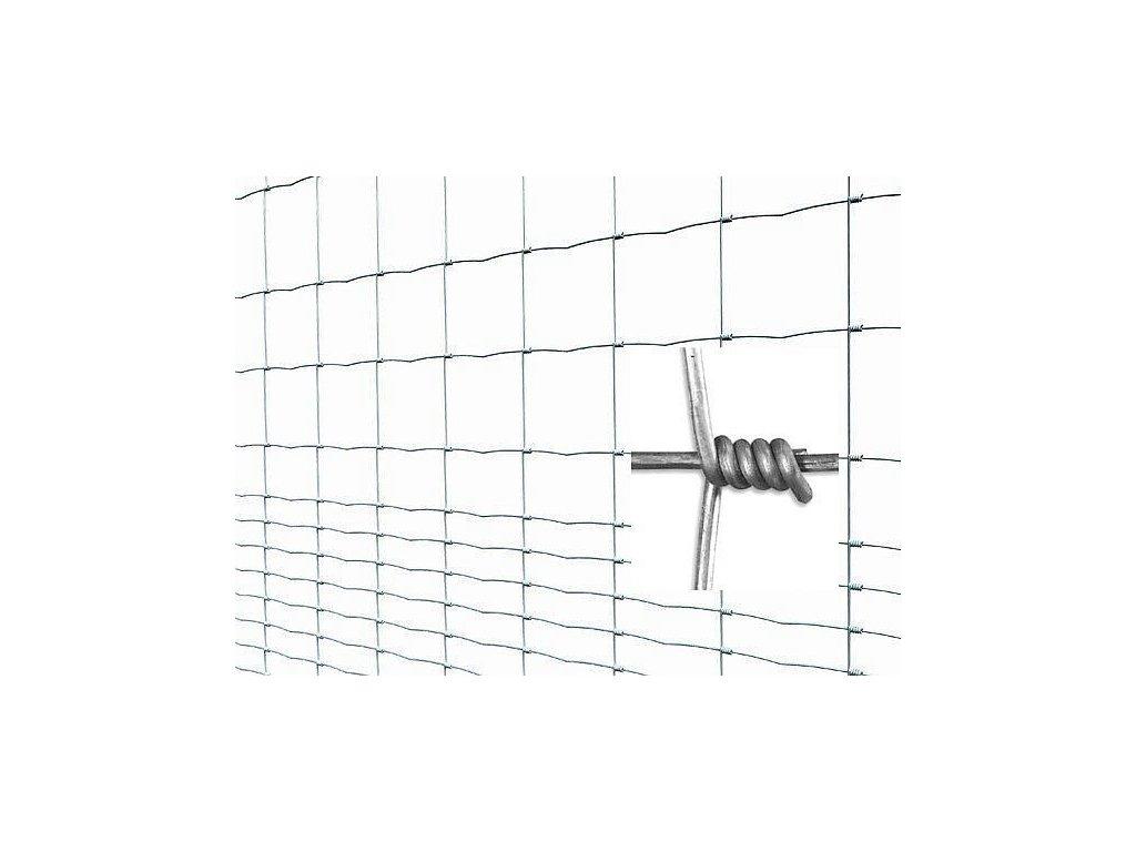 Pletivo pozinkované uzlové STANDARD v. 2 m vodorovné drôty 16 ks (bal 50 m)