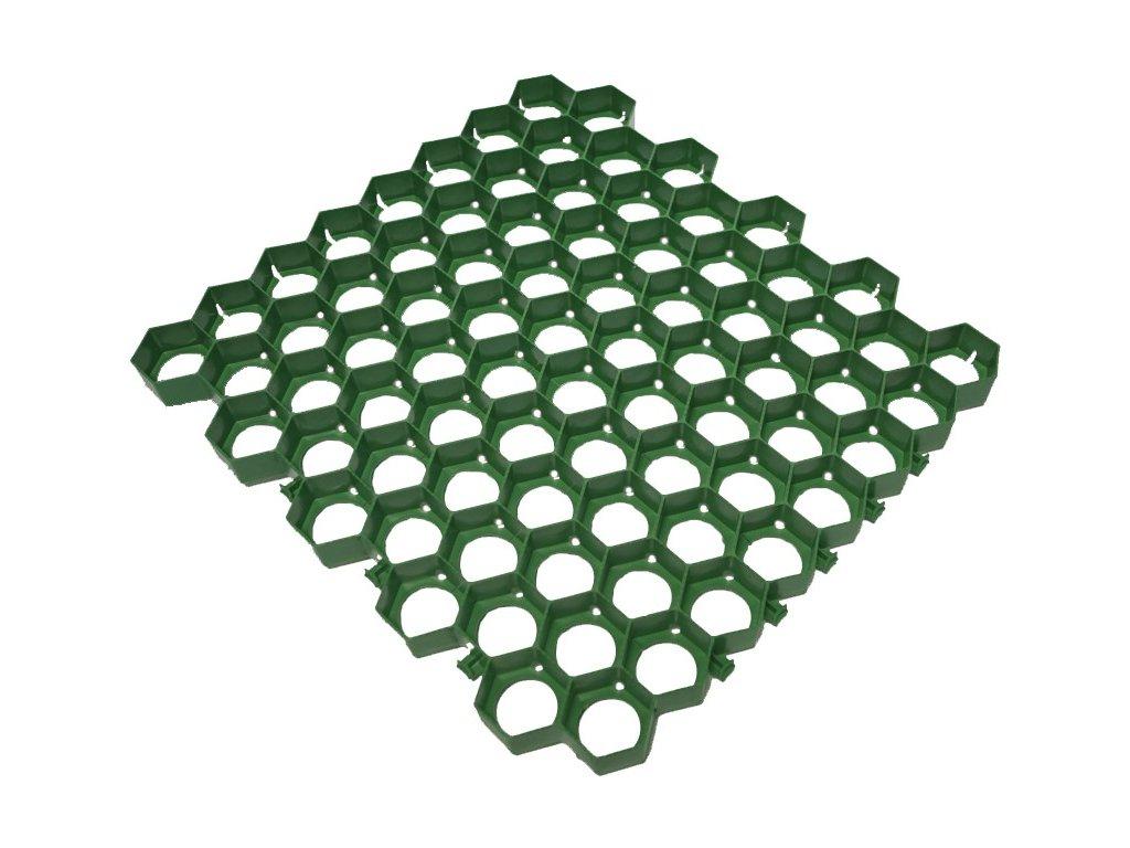 Plastová dlažba 56 x 60 x 4 PRATEX 300 t zatravňovacie tvárnica