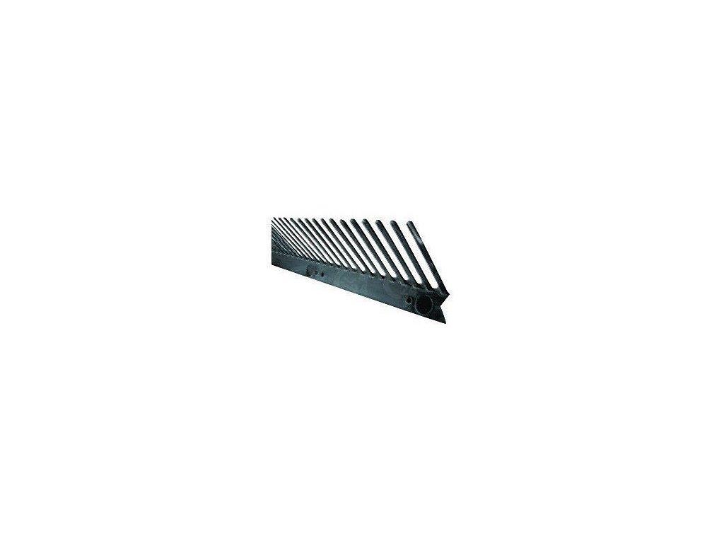 Vetracia mriežka ochranná čierna 55 mm / d. 1m LIKOV