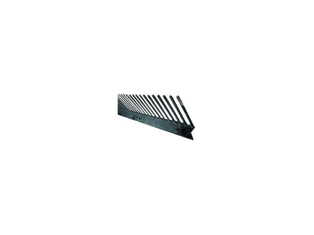 VENTILAČNÁ OCHRANNÁ MRIEŽKA 55mm, d. 1m - čierna GUNNEX