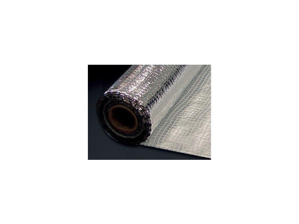Parotesná fólia ALU reflexná 110 N s PE mriežkou 1,5 x 50 m