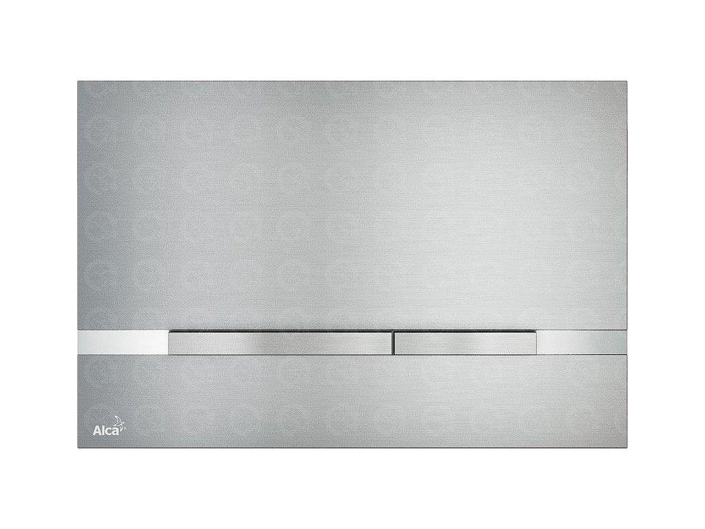 Ovládacie tlačidlo Flat STRIPE kov-mat / lesk