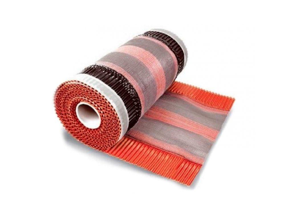 Hrebeňový a nárožný pás samolepiaci 310 x 5000 mm hnedý