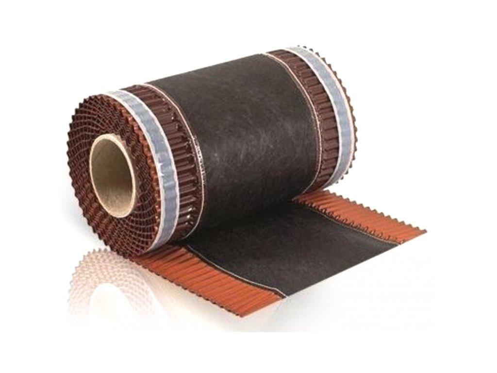 Vetrací pás nárožia samolepiaci 310 x 5000 mm tehlová ECO ROLL