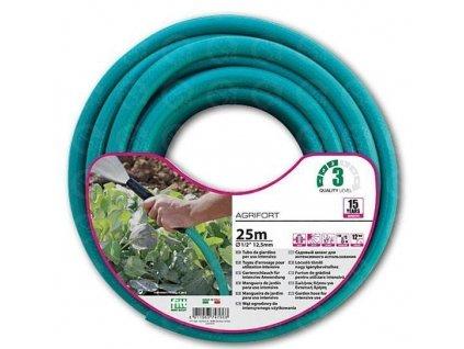 """Tyrkysová záhradnej hadice 3/4 """" Agrifort 25m (5 vrstvová)"""