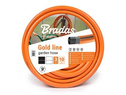 """Oranžová záhradnej hadice 1/2 """" - 30 m GOLD LINE 3vrtsvá"""