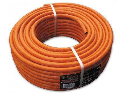 Vzduchová hadice technická na propan butan pr. 6,3 mm / d. 100 m
