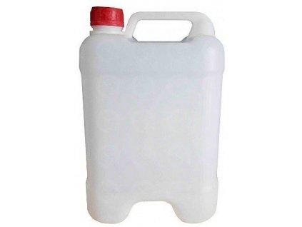 Plastový kanister 10 litrov PVC stohovateľný