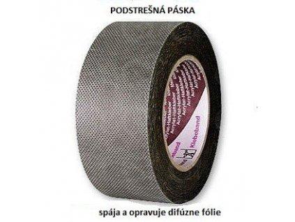 Podstrešná páska na difúzne fólie (š.50mm / d. 25m)