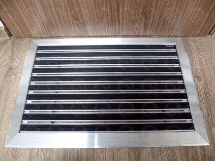 Gumová rohož - hliníkový rám 66 x 45 cm