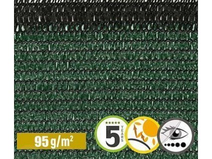 Tieniaca tkanina na plot 90% sieťka 1 x 50 m SOLEADO PRO zelená