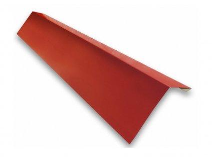 Odkvapový plech 1 m odkvapnica červená višňa