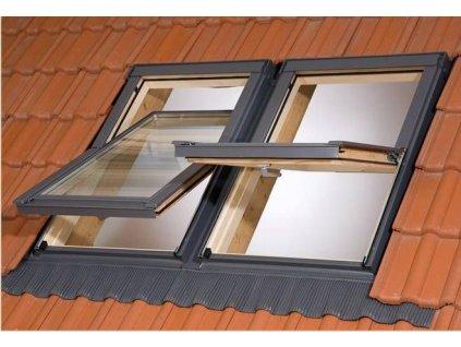 Kombi lemovanie na strešné okno 78x118cm (pre dvojicu)