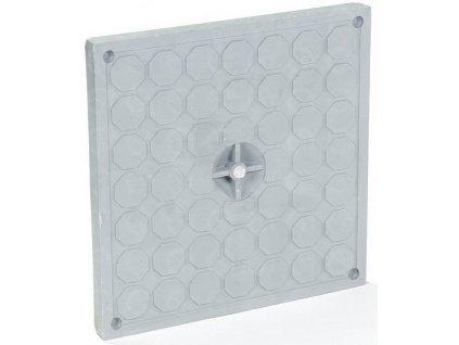 Plastový poklop pochôdzny PP k revíznej šachte 200 x 200 Technodrain