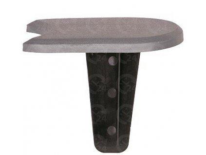 Obrubníková palisáda 1-dielna šedá 1,2 cm / 3,8 m