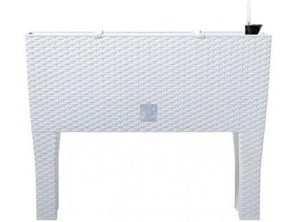 Plastové samozavlažovacie truhlíky Rato Case High biely 60 x 25 m