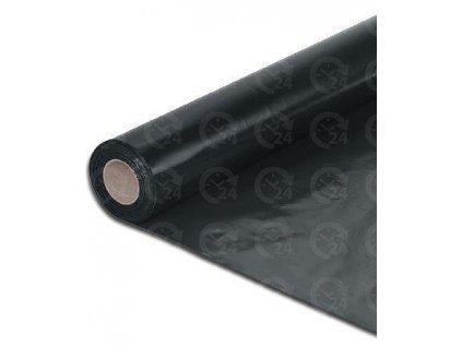 LDPE fólia separačná 4 x 25 m - polohadica, polorukáv 100 mikrónov ČIERNA
