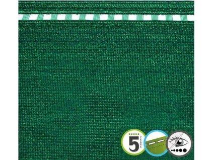 Tieniaca tkanina na plot 100% sieťka zelená
