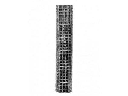 Pozinkovaná sieť zváraná 1 x 25 m - oko 6,3 mm (drôt 0,55 mm)