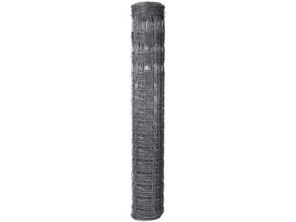 Pletivo pozinkované uzlové STANDARD v. 1,6 m vodorovné drôty 20 ks (bal 50 m)