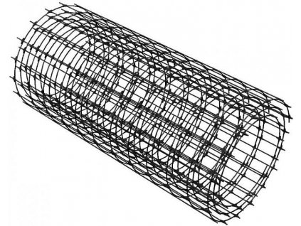 Kompozitná kari sieť ORLITECH MESH 3 mm oko 100 x 100 mm rolka 0,75 x 30 m výstuž