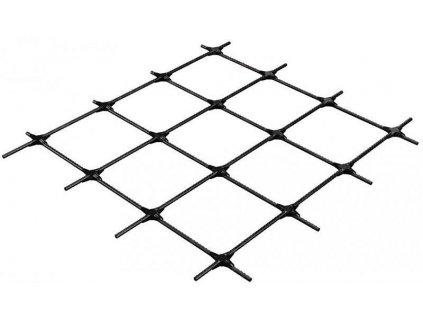 Kompozitná kari sieť ORLITECH MESH 3 mm oko 100 x 100 mm doska 0,75 x 3 m betonárska výstu