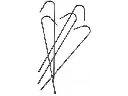 """Kotviace spona kovová """"J"""" 20cm pre spevňujúce siete a fólie"""
