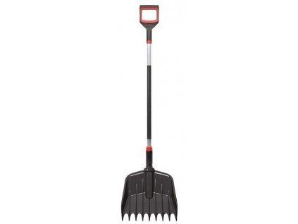 Lopata - hrable čierne RAKE LOADER 38,5 cm
