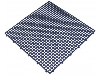Modrá plastová dlažba Flextile 40 x 40 x 0,8 cm