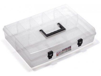 Plastový organizér box transparentné NUN 16