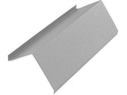 Záveterná lišta horná plechová strešná krytina BLACHOTRAPEZ aluzinok 2 m
