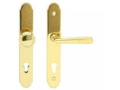 Bezpečnostné kovanie pre vchodové dvere ALT - WIEN OLV kľučka / guľa