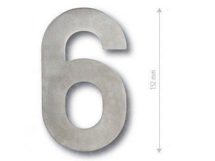 Čísla na dvere NEREZOVÉ 152 mm