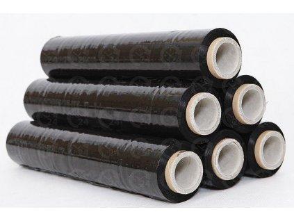 STRETCH FÓLIA čierna š. 500mm strečová fólia