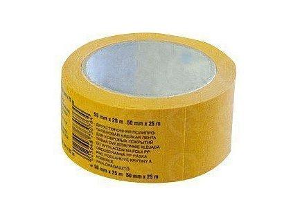 Lepiaca páska obojstranná 50mm x 25m PROFI s textilnou výstužou