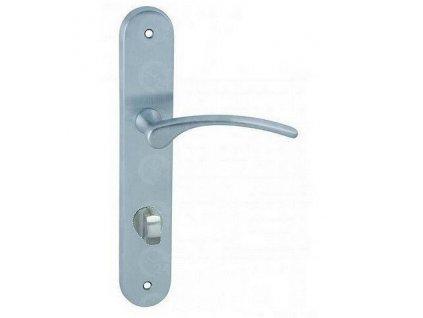 Interiérová kľučka dverová LAURA kovanie COBRA chróm matný
