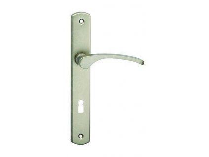Interiérová kľučka k dverám LAURA economy NEREZ ELOX kovania COBRA