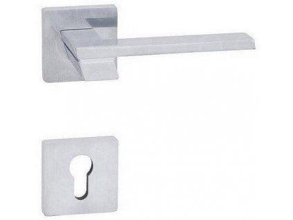 Interiérová kľučka nerezová PONTE - S kovanie chróm matný