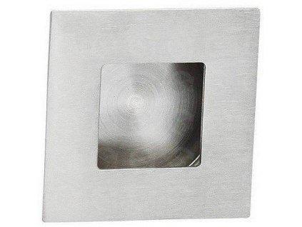 Dverové úchyt na posuvné dvere - nerez 40x40mm