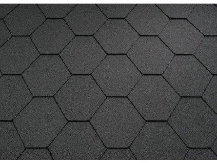 Asfaltový šindeľ strešný KL čierny KATEPAL
