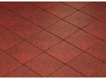 Strešný šindeľ FOXY červená KATEPAL asfaltový