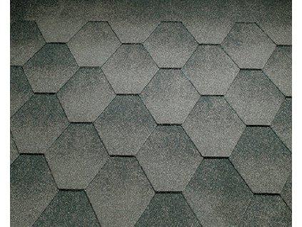 Strešný asfaltový šindeľ JAZZY sivá KATEPAL