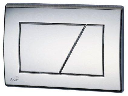 Ovládacie tlačidlo základné M171 Chróm - lesk