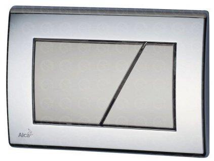 Ovládacie tlačidlo základné M173 Chróm - kombinácia lesk-mat