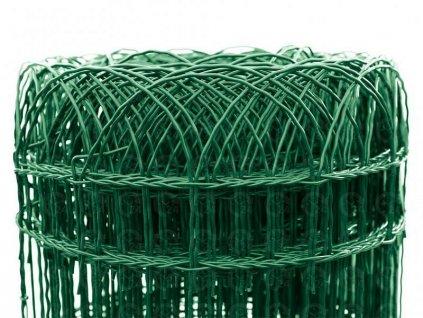 Pletivo poplastované dekoračné 400 mm Pilecký DEKORAN (25m)