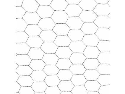 Pozinkované pletivo ZN 1 x 50 m šesťhranné (oko 16x16mm)