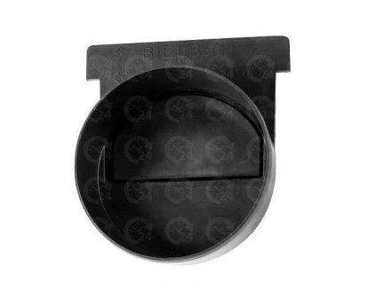 Koncovka žľabu s odtokom pre odvodňovací žľab 125 x 95 mm