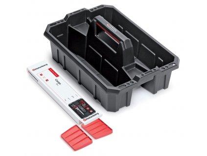 prepravka na naradi s prepazkami cargo plus cerna cervena 395x295x190 (1)