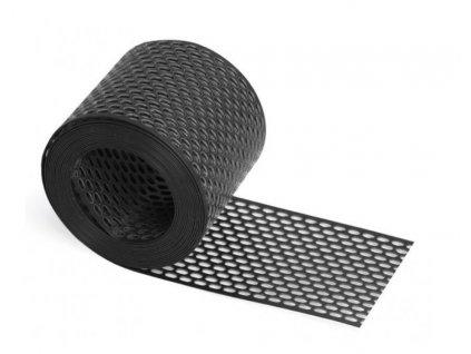 Ochranná vetracia mriežka PVC čierny